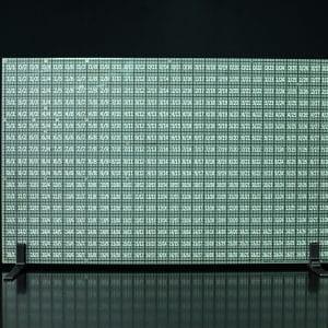Large Green Grid Aim Board