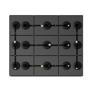 14×17 Rigid Carbon Fiber Mosaic System – Large Suction Cups